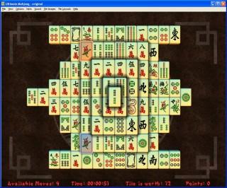mahjong titans full screen